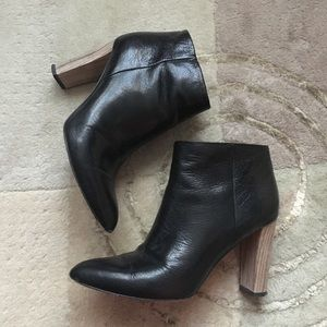 Kate spade sexy booties black leather 7.5